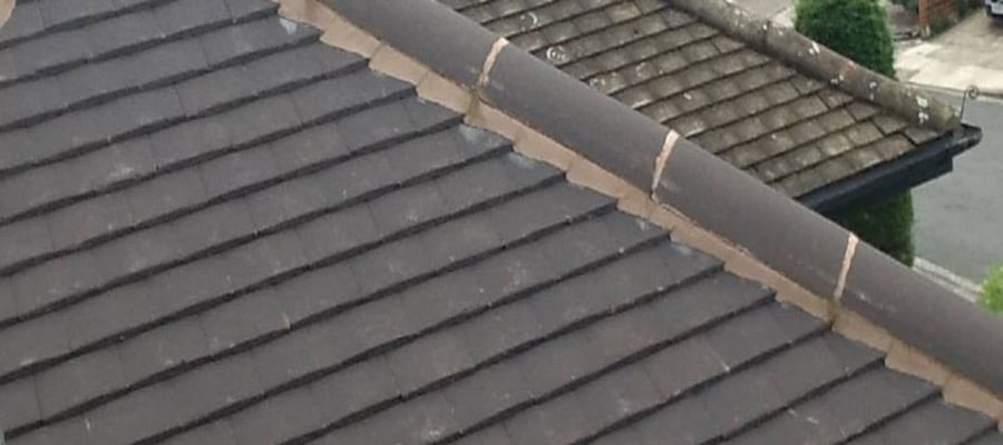 Ridge Cap Pointing and Repairs Sheffield