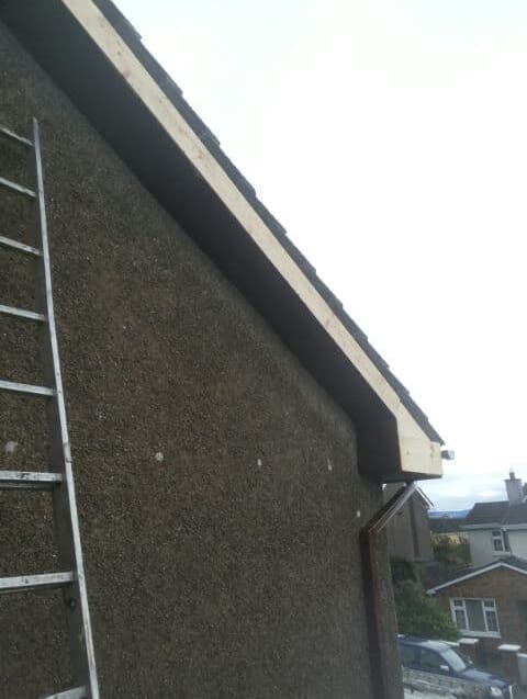 Preparing Fascia and Soffit in sheffield - Gutter Repairs Sheffield City