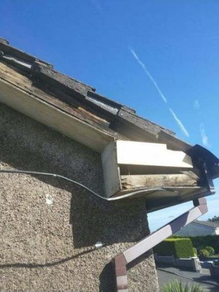 Skin Beading Replacement Fascia and Soffit Repair in Sheffield